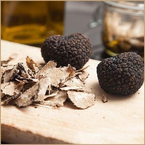 black truffle infused olive oil