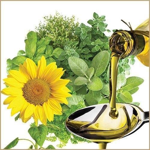 mediterranean herbs infused oil