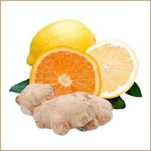 orange, lemon & ginger balsam vinegar