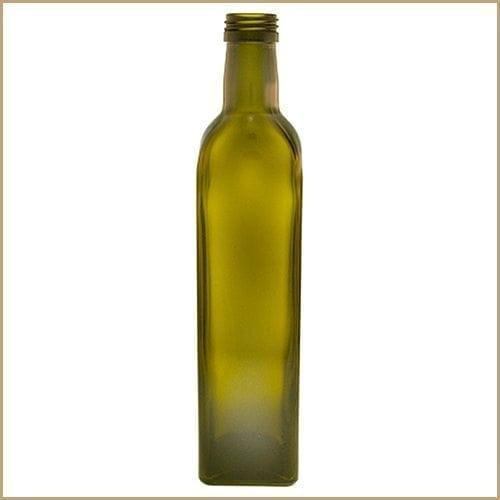 250ml glass bottle - Maraska Green