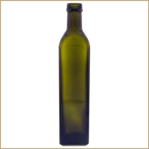 500ml glass bottle - Maraska Green