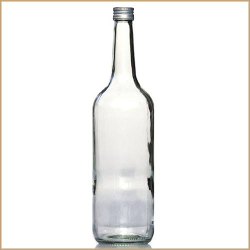 1000ml glass bottle - Geradhals