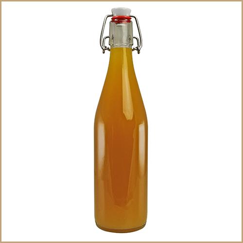 500ml glass bottle filled - Swing Top