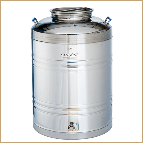 BC-CIL-100L-EU-Sansone Europa Steel Oil Drum