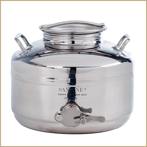 BC-CIM-10L-Sansone Europa Steel Honey Drum