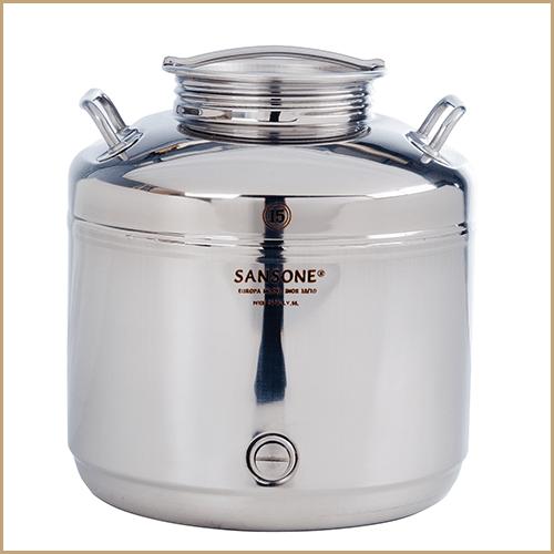 BC-CIL-15L-AQ-Sansone Europa Steel Water Drum