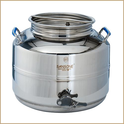 BC-CIM-25L-Sansone Europa Steel Honey Drum