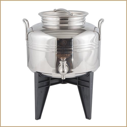 BC-CIL-05L-AQ-Sansone Europa Steel Water Drum With Stand