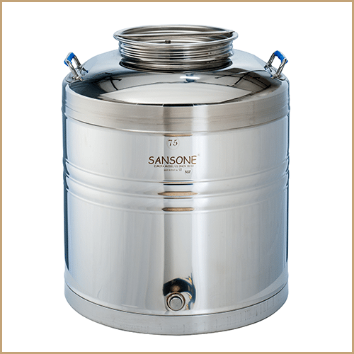 BC-CIL-75L-EU-Sansone Europa Steel Oil Drum